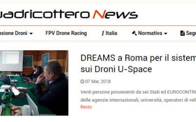 Quadricottero News publishes information about the first DREAMS IAB Meeting